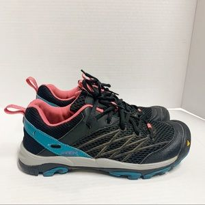 Keen Dry Outdoor Venture Hiking Shoes Black Pink 8